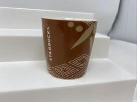 Starbucks Coffee Company Brown Shot Glass 3 Fl Oz 89ml - $14.84
