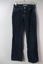 Chico's Jeans Trouser Straight Leg 00 Medium wash Stretch Womens Casual ... - $14.03