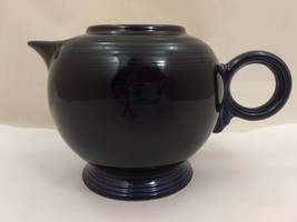 COBALT BLUE Fiestaware Teapot WITHOUT LID Homer Laughlin Fiesta Ware Tea... - $14.77