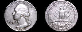 1957-D Washington Quarter Silver - $10.99