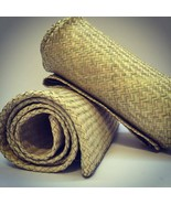Petate Tule Rush Straw Rug Handwoven Palm Organic floor bed bedroll mat ... - £107.91 GBP