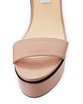 Jimmy Choo Nylah Leather Wedge Platform Sandals 40 MSRP: $650.00 image 2