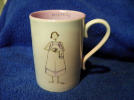 Demdaco Most Sincerely Claire Stoner Hospitality CUP MUG NEW Lovely - $9.32