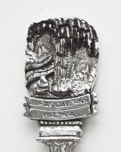 Collector Souvenir Spoon USA Virginia Luray Caverns Embossed Emblem - $7.99