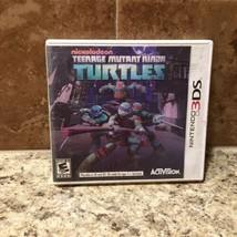 Teenage Mutant Ninja Turtles (Nintendo 3DS, 2013) Nickelodeon - TESTED  - $10.69