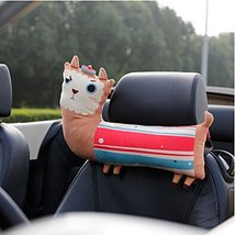PANDA SUPERSTORE Cute Cartoon Animals Series [Lovely Alpaca] Car Headrest/Car Ne