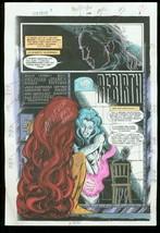 New Titans #108 Production Art Dc Color Guide - $303.13