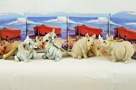 4 Pete Apsit Holy Herd NOAH'S ARK Elliot Elke Elephant Rhonda Ripley Rhino - $52.73
