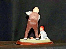 """""""Low and Outside """" by Norman Rockwell Figurine AA19-1665 Vintage image 7"""