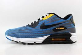 Nike Ash Light 654468 Photo Max Blue Black Men's SZ 10 Grey Air Lunar90 JCRD 001 rXUFr1