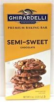 Ghirardelli Premium Baking Bar Semi Sweet Chocolate 4 oz - $5.63