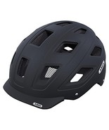 Abus Hyban Urban Helmet with Integrated LED Taillight, Velvet Black, Medium - $68.68