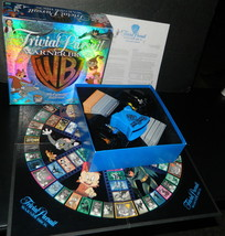 Warner Brothers Trivial Pursuit  Board Game-Complete - $24.00