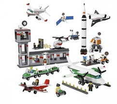 Lego Space and Airport Set (set of 1176) - $217.14