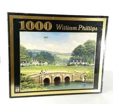 1000 Piece Jigsaw Puzzle William Phillips Apple Creek Yacht Club. Sealed - $6.79