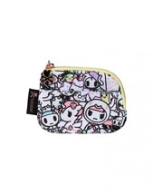 Tokidoki Holiday Pastel Pop Zip Unicorn Womens Coin Purse Wallet TK17042... - $18.00