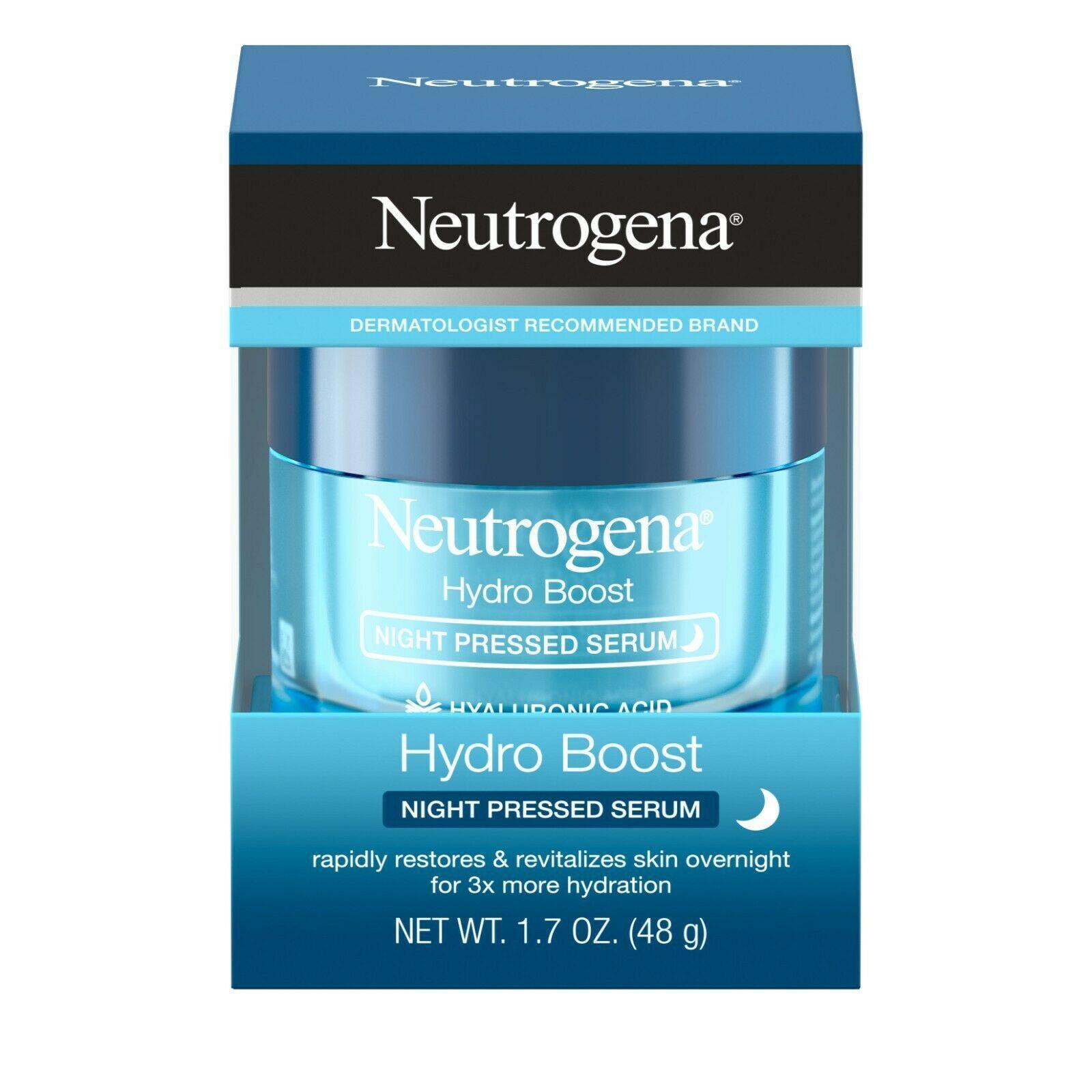 Neutrogena Hydro Boost Hyaluronic Acid Pressed Night Serum, 1.7 oz..+ - $39.59