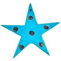 Tabaka Chigware Hand Carved Kisii Soapstone Blue Star Stone Ornament image 2