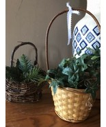 2 Woven Decor Basket - $18.81