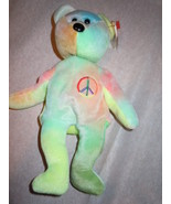 Ty Beanie Baby Peace 1996 Retired Mint  - $8.99