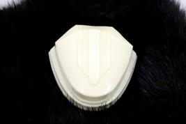 Arden Art Deco Celluloid Engagement Ring Box Clamshell Black Velvet Pres... - $44.59