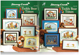 TEDDY BEAR TIMES  - STONEY CREEK CROSS STITCH BOOK - $11.83