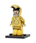 Single Sale Chrom Golden Iron Man Limited Edition Superhero Marvel Minif... - $5.98