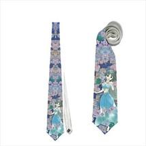 necktie wedding princess tie cute princess jasmine aladdin grooms tie ba... - $22.00