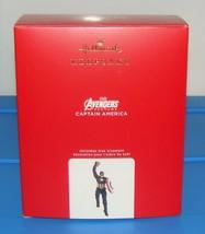 2020 Hallmark Keepsake Marvel Avengers Endgame Captain America Ornament NIB HTF - $49.90