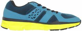 DC Shoes Uomo 'S Unilite Elastico Sportivo Blu Giallo Corsa Scarpe 7 USA Nib image 4
