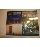 Stones of Jerusalem(HC) & Only the River Runs Free(PB) by Bodie & Brock ... - $8.64
