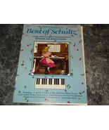 Columbia's Best of Schultz Five 5 finger Piano  sheet music - $4.99