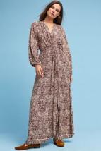NWT ANTHROPOLOGIE NICO RASPBERRY MAXI DRESS by NATALIE MARTIN S - $142.49