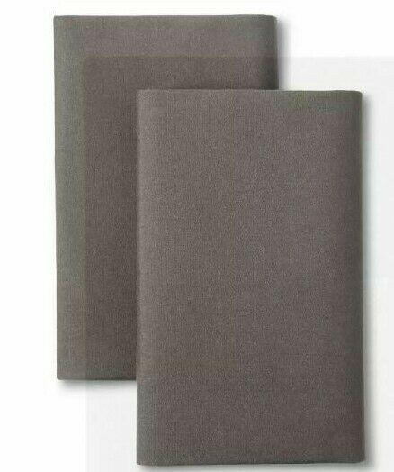 "NEW Room Essentials Pillow Sham Gray Standard Size 20"" x 26"""
