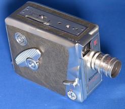 KEYSTONE K-33 OLYMPIC 8mm Movie Camera ELGEET f/1.9 12.5mm USA - $41.40