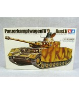 TAMIYA WWII MILITARY GERMAN PANTHER PANZERKAMPFWAGEN V TANK MODEL KIT - $34.64
