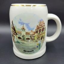 Vintage 1986 Reutter Porzellan Walt Disney Germany Epcot Center Beer Mug Cup - $47.99