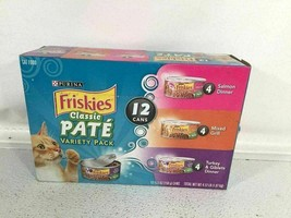 Purina Friskies Classic Pate Variety Wet Cat Food Can 12 Count Pack - $3.95