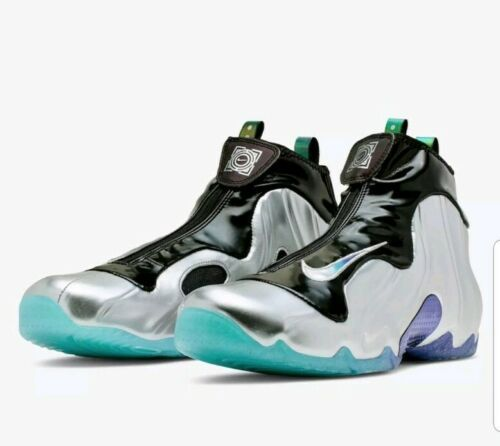 Primary image for Nike CJ8010-990 Air Flightposite One China Hoop Dreams Men Shoes - Silver/Black