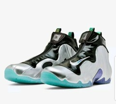 Nike CJ8010-990 Air Flightposite One China Hoop Dreams Men Shoes - Silve... - $118.79