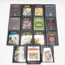 Vintage Lot De 15 Classique Atari 2600 Jeux - $39.58