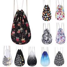 Women Emoji Backpack 3D Printing Travel Softback Women Mochila Drawstrin... - $26.77 CAD