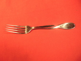 """7 1/2"""" Stainless, Dinner Fork, from Oneida, in the 1993 Aquarius Pattern - $14.99"""