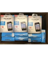 """30 Boxes NET10 - LG OPTIMUS FUEL ANDROID 3.5"""" Smart phones New NOT SCANNED - $445.50"""