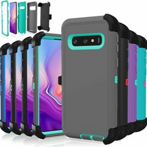 "For Samsung Galaxy S10 S10+ S10e Case Defender ""Clip Fit Otterbox Series... - $6.99"