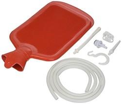 Home Enema Douche Kit Hot Water Bottle Bag 2 Quart Reusable Releases Pain - $343,38 MXN