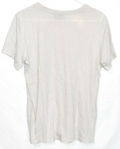adidas Originals Women's Boyfriend Cream Off-White Trefoil T-Shirt Size S image 2