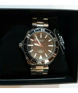 Oniss Paris Stainless Steel Watch Black Face ON6979 MSRP $295 BRAND NEW ... - $116.62