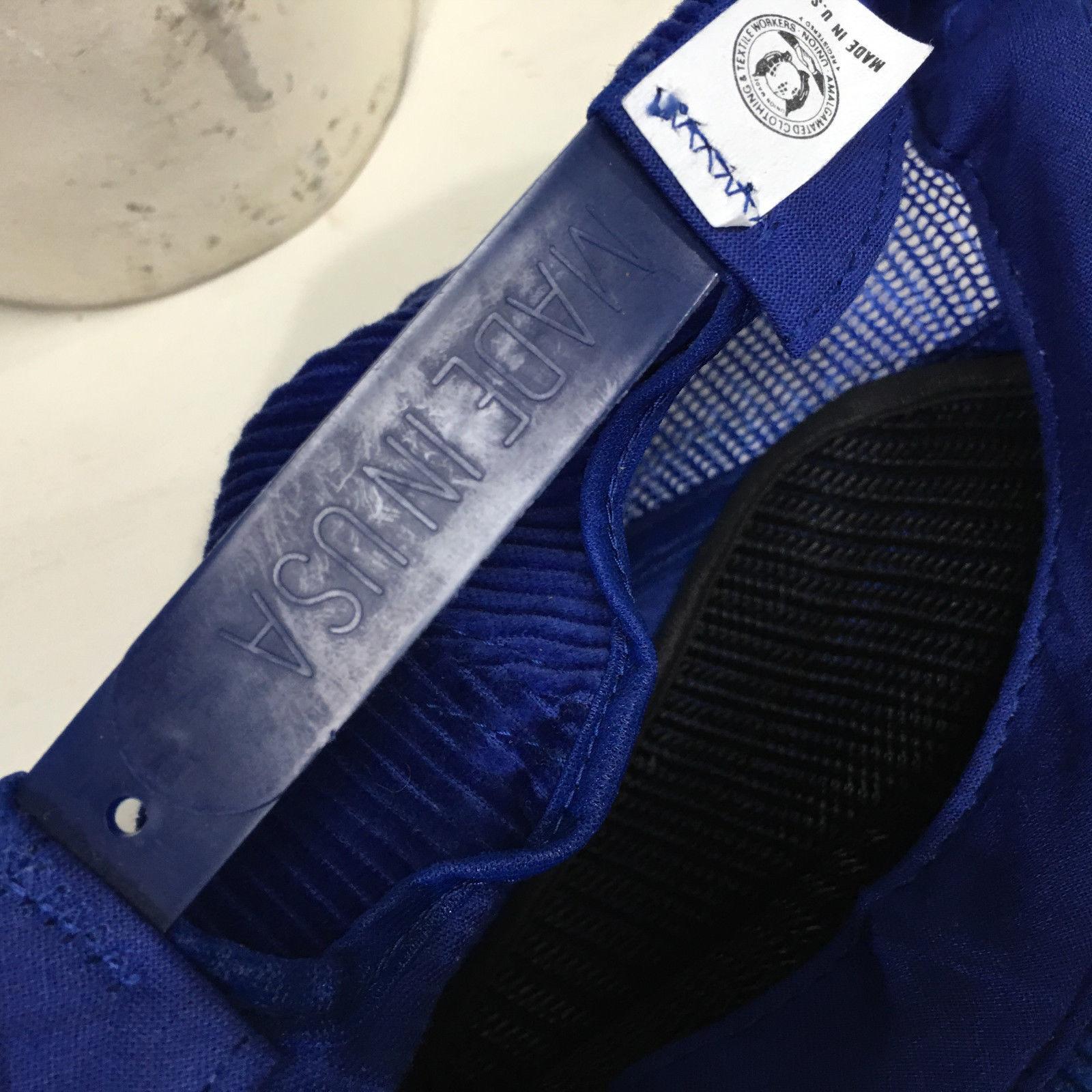 VTG Westinghouse Mod Serv Corduroy Snapback Made in USA Baseball Cap Hat image 5