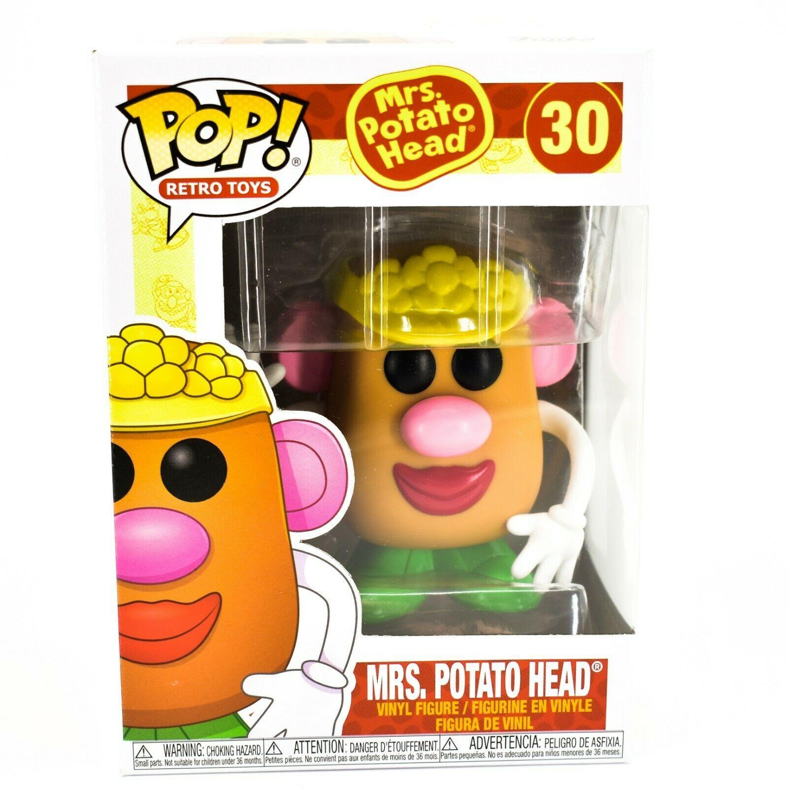 Funko Pop! Retro Toys Mrs. Potato Head #30 Vinyl Action Figure
